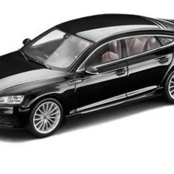Audi A5 Sportback Zwart 1-43 Spark
