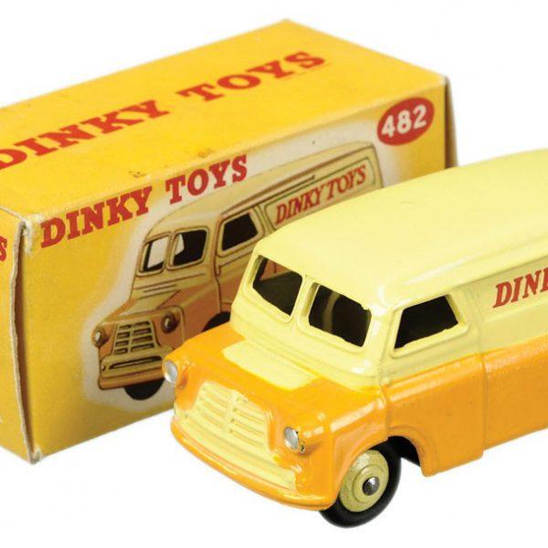 Bedford 12 CWT Geel/ Beige 1-43 Dinky Toys