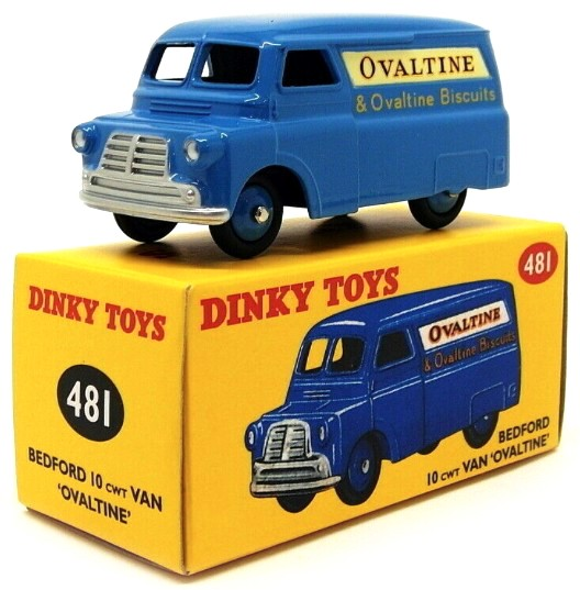 Bedford 12 Van Ovaltine Blauw 1-43 Dinky Toys