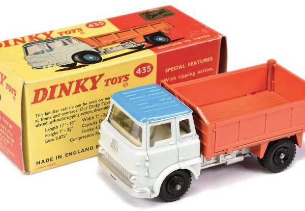 Bedford TK Tipper Truck 1-43 Dinky Toys