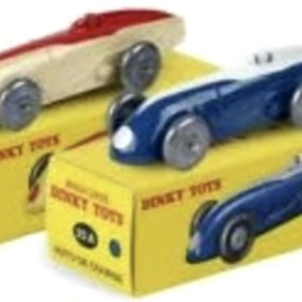 2 Voiture De Course 24A - 2 Car Set 1-43 Dinky Toys ( Atlas )