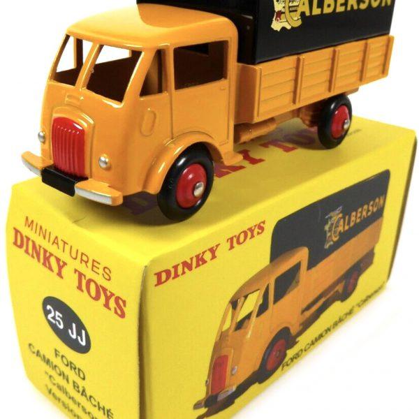 Ford Calberson 25 JJ 1 044 Geel/ Zwart 1-43 Dinky Toys
