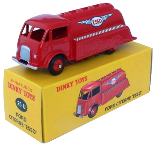 "Ford Citerne ""ESSO"" Rood 1-43 Dinky Toys"