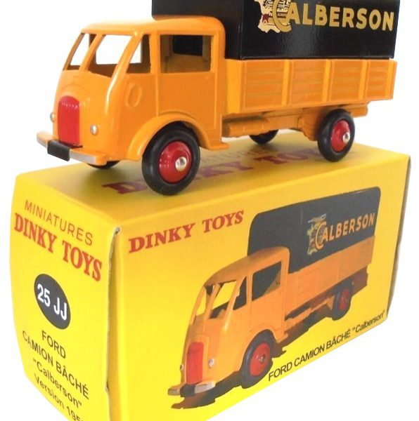 Ford Poissy 'Calberson' Geel / Zwart 1-43 Dinky Toys