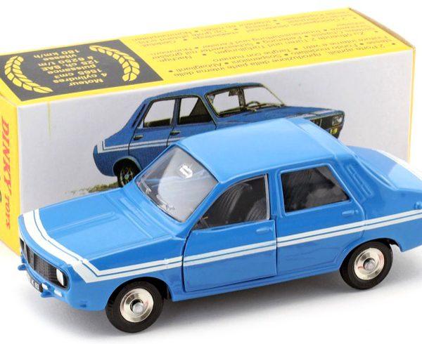 Renault 12 Gordini Blauw 1-43 Dinky Toys ( Atlas )
