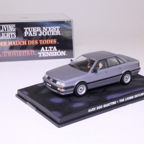"Audi 200 Quattro James Bond ""The Living Daylights"" 1-43 Altaya James Bond 007 Collection"