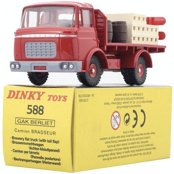 Berliet Gak 1960 Rood 1-43 Dinky Toys