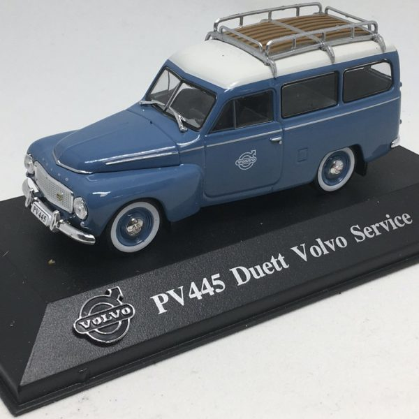 Volvo PV445 Duetto Volvo Service 1-43 Blauw Atlas Volvo Collection