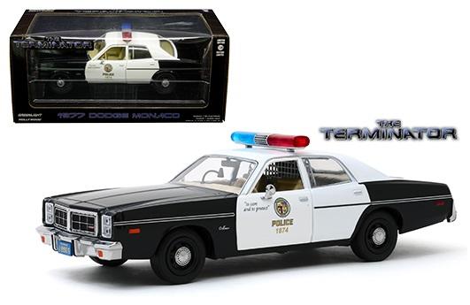 "Dodge Monaco 1977 ""The Terminator"" 1-24 Greenlight"