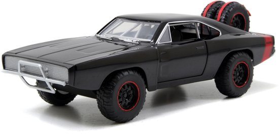 """Dodge Charger R/T 1970 Fast & Furious """"Dom's """" Zwart 1-24 Jada Toys"""