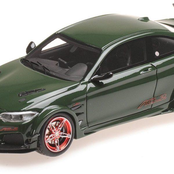 BMW AC Schnitzer L2 2016 Groen 1-43 Minichamps Limited 555 pcs.