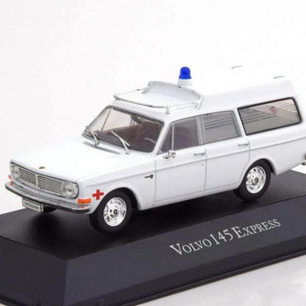 "Volvo 145 Express 1969 ""Ambulance"" Wit 1-43 Atlas"