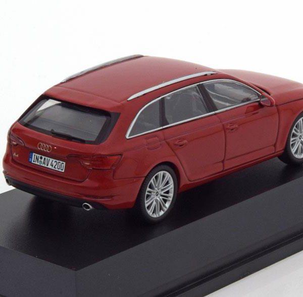 Audi A4 Avant 2015 Rood 1-43 Spark