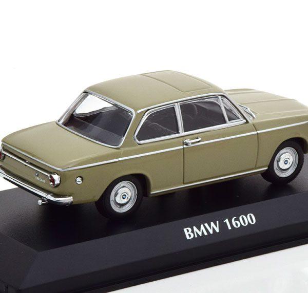 BMW 1600 1968 Beige 1-43 Maxichamps