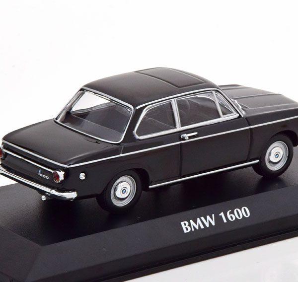 BMW 1600 1968 Zwart 1-43 Maxichamps