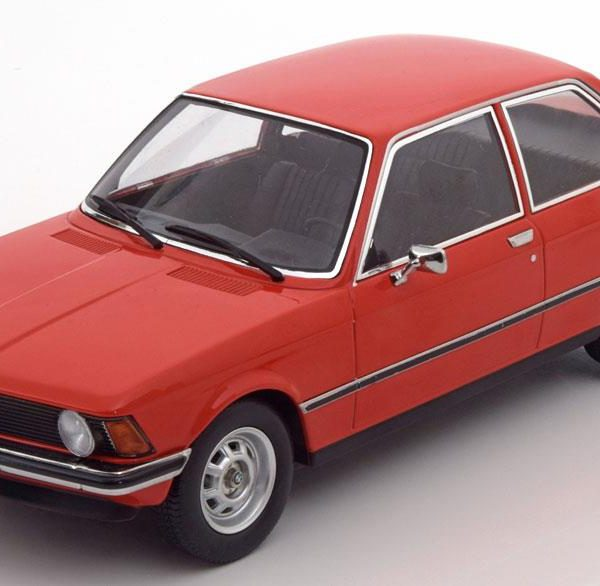 BMW 318i ( E21 )1975 Rood 1-18 KK Scale Limited 1500 Pieces