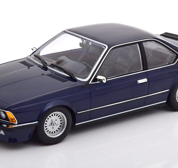 BMW 635 CSI ( E24 )1982 Blauw Metallic 1-18 Minichamps Limited 504 Pieces