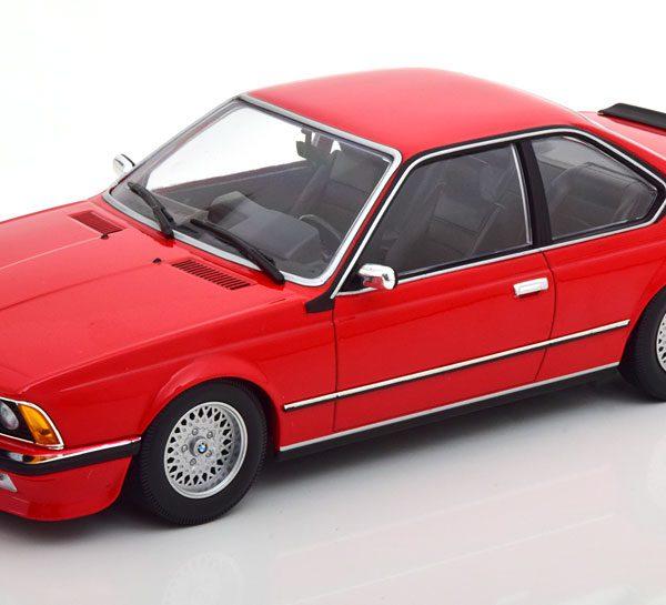 BMW 635 CSI 1982 Rood 1-18 Minichamps Limited 504 Pieces