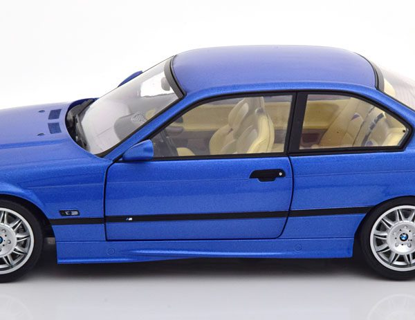 BMW M3 E36 Coupe 1992 Blauw 1-18 Solido