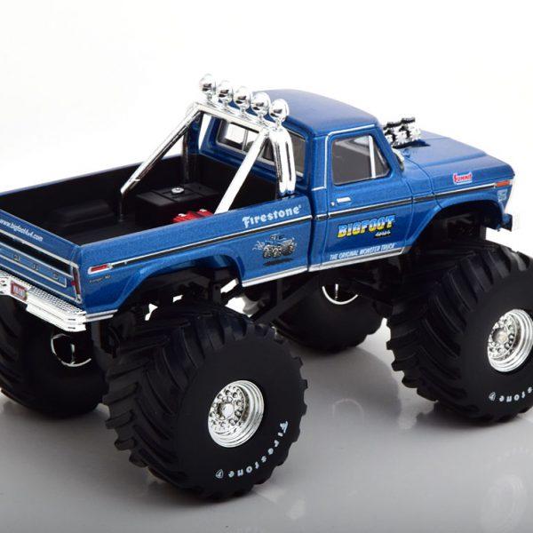 "Ford F-250 ""Bigfoot"" Monstertruck 1974 Blauw Metallic 1-43 Greenlight Collectibles"