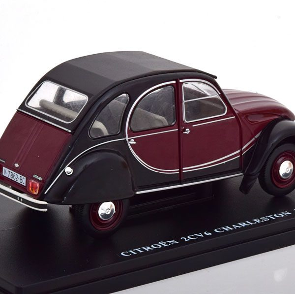 Citroen 2 CV Charleston 1982 Rood / Zwart 1-24 Atlas
