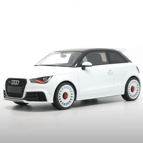 Audi A1 Quattro 2012 Wit 1-18 DNA Collectibles Limited 333 Pieces
