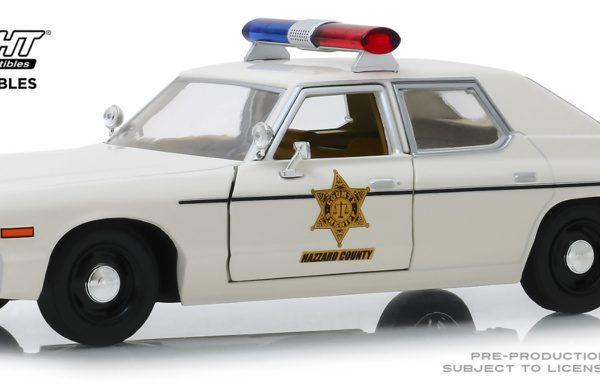 Dodge Mónaco Hazzard County Sheriff (1975) Beige 1-24 Greenlight Collectibles
