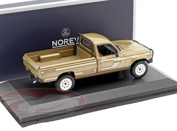 Peugeot 504 Pick Up 4x4 Dangel 1985 Beige Metallic 1/43 Norev