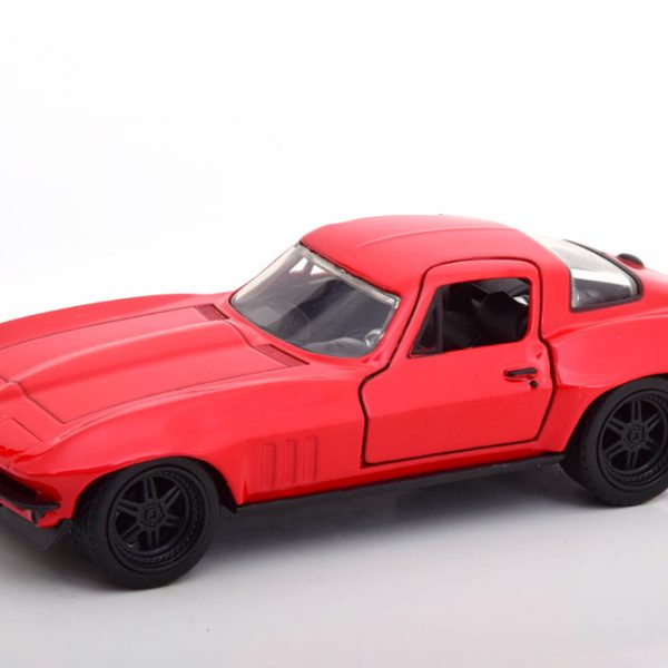 "Chevrolet Corvette ""Fast & Furious"" Letty's Car Rood 1-32 Jada Toys"