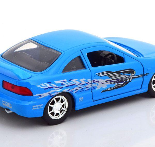 "Honda Acura Integra 1995 ""Fast & Furious""Mia's Car Blauw 1/32 Jada Toys"