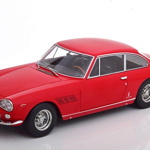 Ferrari 330 GT 2+2 1964 Rood Metallic 1-18 KK Scale Limited 1250 Pieces