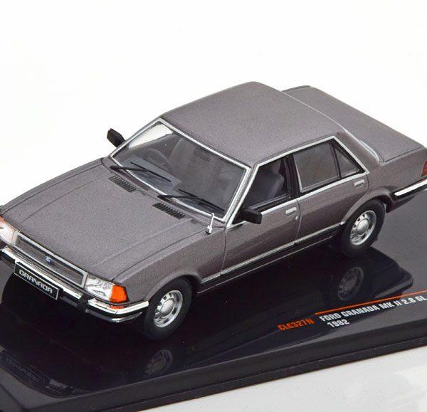 Ford Granada 2.8 GL MK II 1982 Grijs Metallic 1-43 Ixo Models