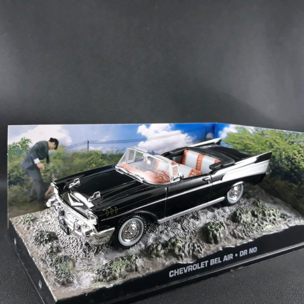 "Chevrolet Bel Air James Bond ""Dr.No"" 1-43 Altaya James Bond 007 Collection"