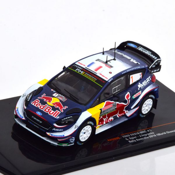 Ford Fiesta WRC No.1, Rally Australian 2018 , Worldchampion Ogier/Ingrassia 1-43 Ixo Models