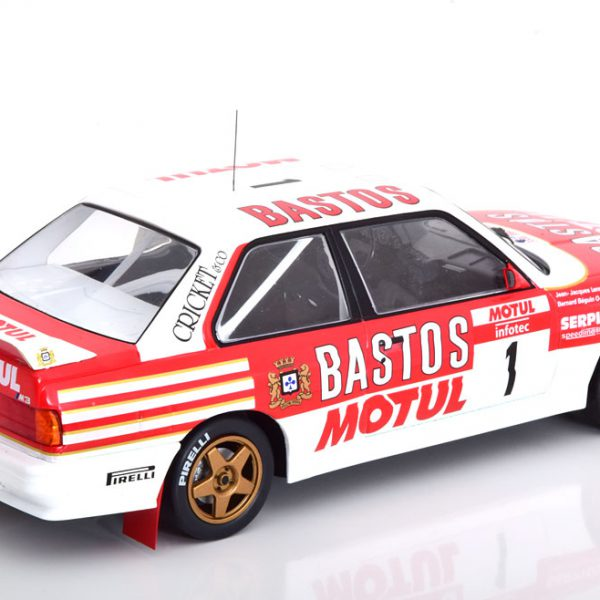 BMW M3 E30 No.1, Rally Tour de Corse 1988 Rood / Wit B.Beguin/ J.J.Lenne 1-18 Ixo Models