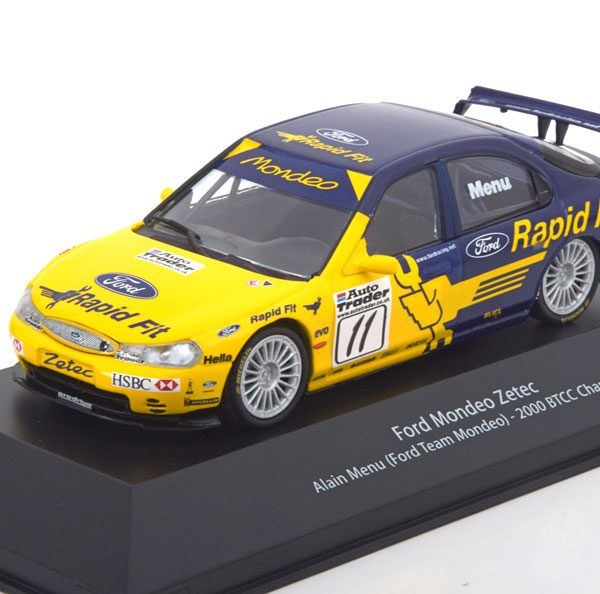 Ford Mondeo Zetec V6 Super Touring No.11, Winner BTCC 2000 A.Menu 1-43 Atlas