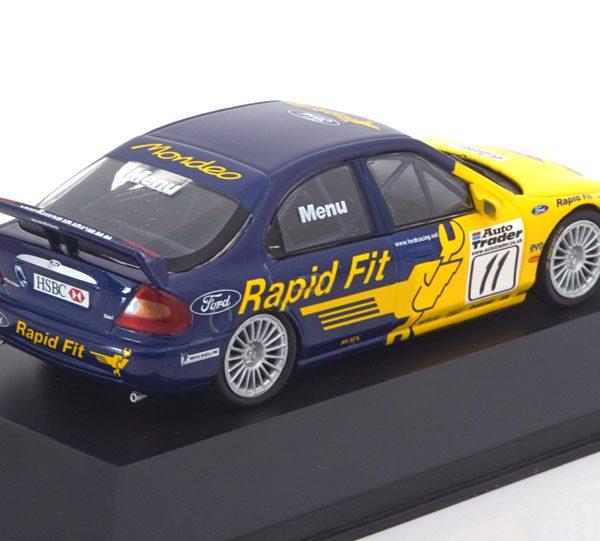Ford Mondeo Zetec V6 Super Touring No.11, Winner BTCC 2000 A.Menu 1-43 Atlas