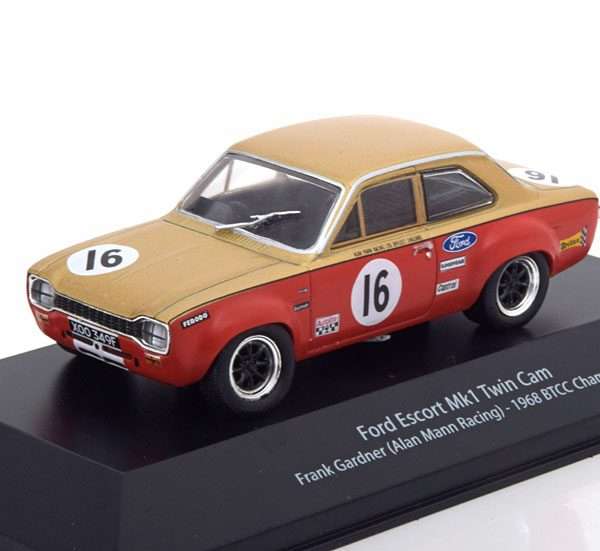 Ford Escort MK1 Twin Cam No.16, Winner BTCC 1968 Gardner 1-43 Atlas