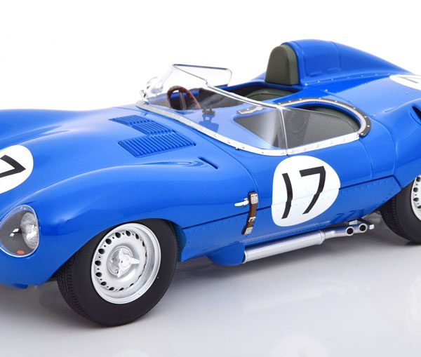 Jaguar D-Type Short Nose No.17, 24h Le Mans 1957 Lucas/Brussin 1-18 CMR Models