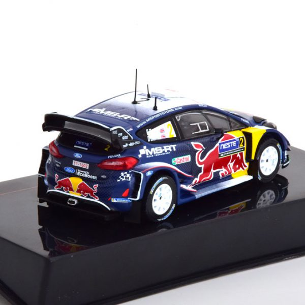 Ford Fiesta WRC No.2, Rally Finland 2018 Evans/Barritt 1-43 Ixo Models
