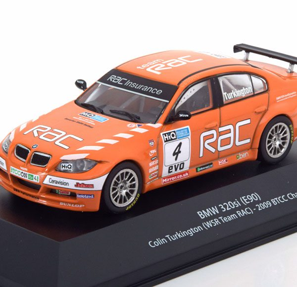 BMW 320si E90 No.4, Winner BTCC 2009 Turkington 1-43 Atlas