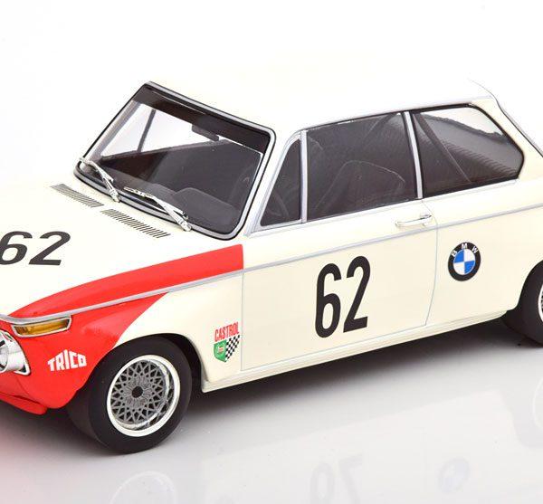BMW 2002 TiiK BMW AG #62 Class Winner Guards International 6Hrs Brands Hatch 1969 Hahne / Quester 1:18 Minichamps Limited 300 Pieces