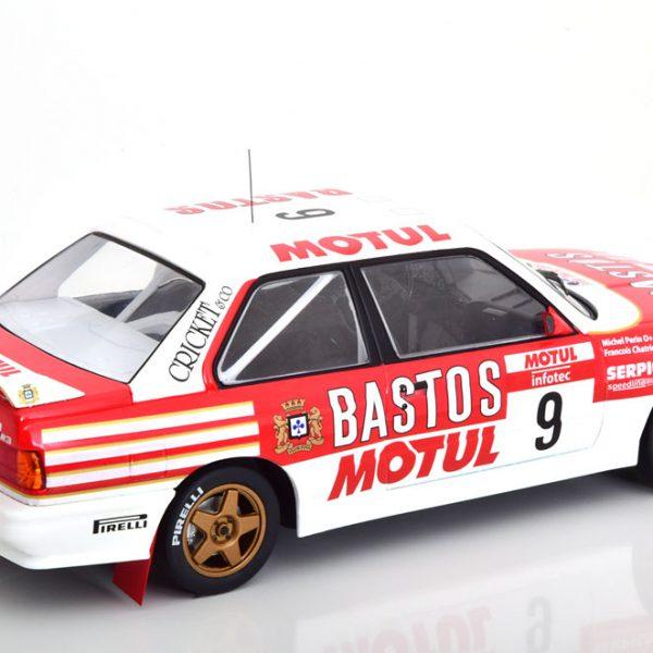BMW M3 E30 No.9, Rally Tour de Corse 1988 Rood / Wit Chatriot/Perin 1-18 Ixo Models