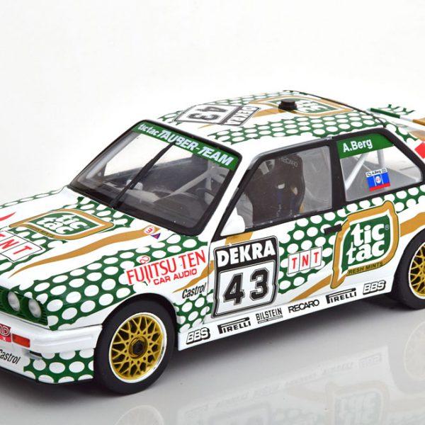 """BMW M3 E30 Nr.43 DTM 1991 """"Tic Tac"""" A.Berg 1-18 Solido"""