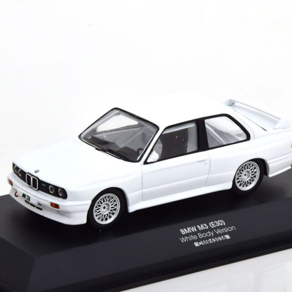 "BMW M3 E30 Evolution 1992 ""Plain Body Version"" Wit 1-43 CMR Models"