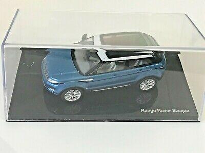Range Rover Evoque 2011 Blauw / Wit 1-43 Ixo Models
