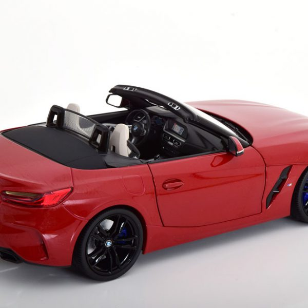 BMW Z4 (G29) Roadster 2019 Rood 1-18 Norev