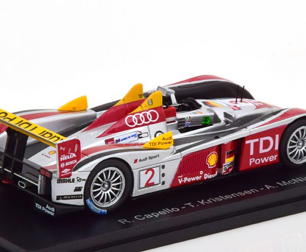 Audi R10 TDI Winner 24Hrs Le Mans 2008 Capello/Kristensen/McNish 1-43 Spark