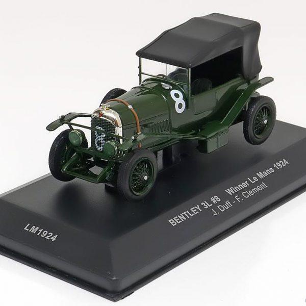 Bentley 3L Nr# 8 Winner 24Hrs Le Mans 1924 Groen 1-43 Ixo Models