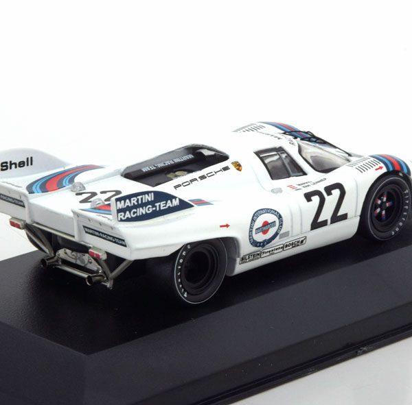 """Porsche 917K Winner 24h Le Mans 1971 """"Martini"""" Marko/van Lennep 1-43 Ixo Models"""